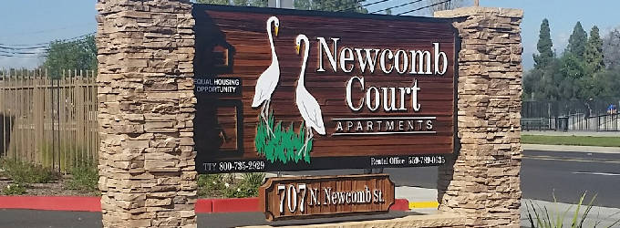 Newcomb Court - Porterville